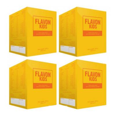 Flavon Kids növényi színanyag koncentrátum 4es csomag