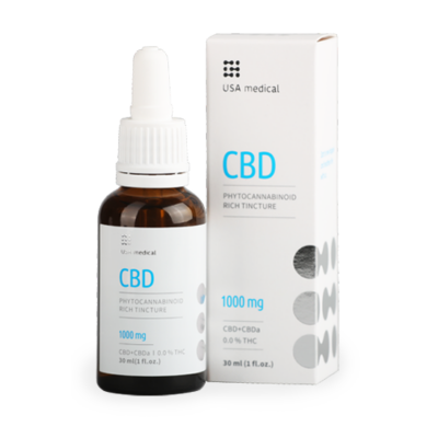 USA Medical CBD olaj 30ml 1000mg