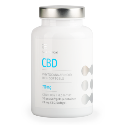 USA Medical CBD drazsé 750mg