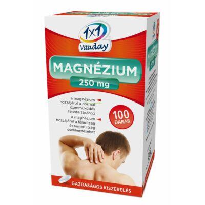 1x1 Vitaday Magnézium 250 mg 100 db filmtabletta