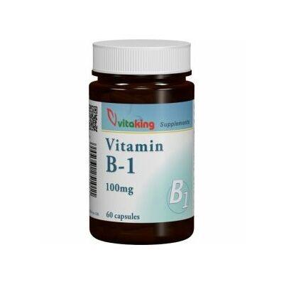 Vitaking B1vitamin 100 mg kapszula 60 db