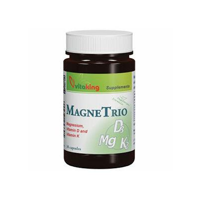 Vitaking MagneTrio Mg   K2   D3vitamin kapszula 30 db