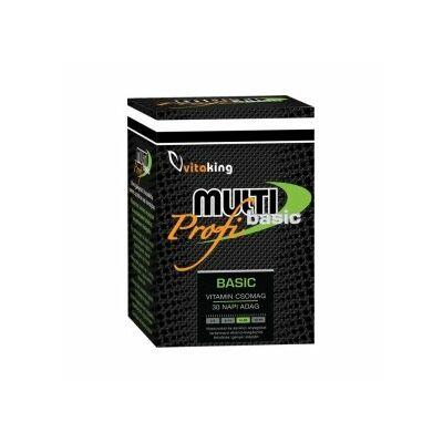 Vitaking Multi Basic Profi multivitamin csomag 30 db