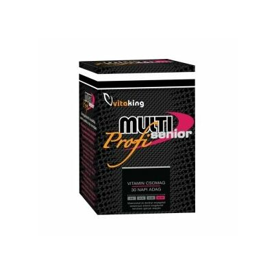 Vitaking Multi Senior Profi multivitamin csomag 30 db