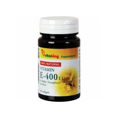 Vitaking Természetes E400 vitamin gélkapszula 60 db