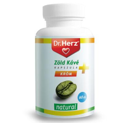 Dr. Herz Zöld kávé króm Cvitamin kapszula 60 db