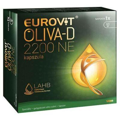 EUROVIT OLIVA-D 2200 NE KAPSZULA, 60 db