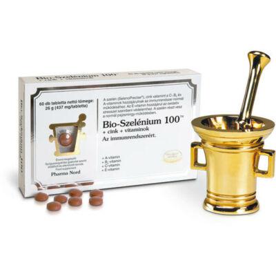 BioSzelénium 100  Cink  vitaminok tabletta 120 db