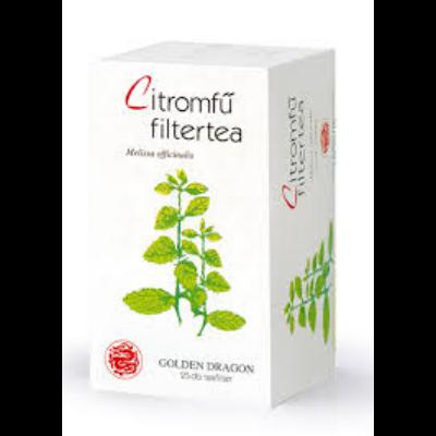 Bioextra citromfűtea filteres 25 filter 25 filter