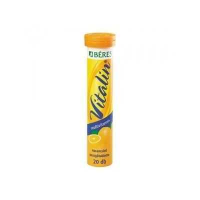 Béres vitalin multivit.pezsgotab.narancs 20 db