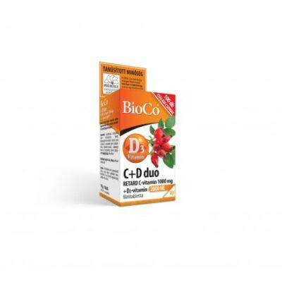 Bioco C d Dou Retard Vitamin Kapszula 100 db