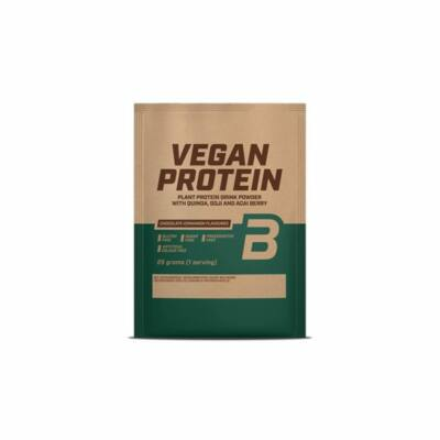 Biotech Vegan Protein, csokoládé-fahéj ízben, 25g
