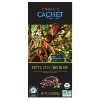 Cachet Bio Táblás étcsokoládé 85százalékos 100 g