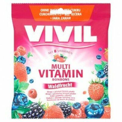 Vivil Multivitamin Cukor Erdei 60 g