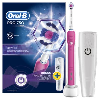 OralB PRO 750 3D White   úti tok 2016OND