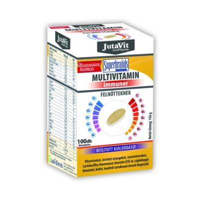 Jutavit Multivitamin Felnőtteknek Nyújtott Oldódású Tabletta 100 db