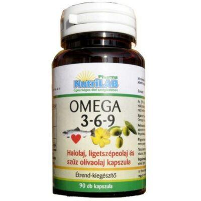 Nutrilab omega 369 kapszula 90 db