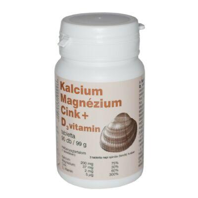Kalciummagnéziumcink tabletta 90 db