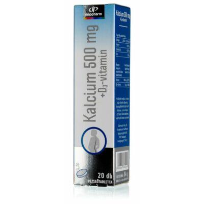 InnoPharm Calcium 500 pezsgőtabletta 20 db