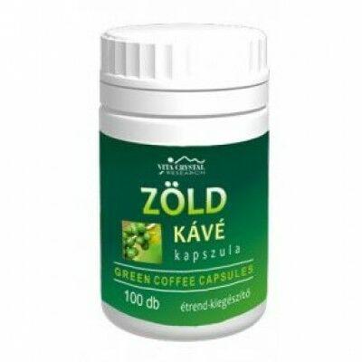 Vita crystal zöld kávé kapszula 250 db