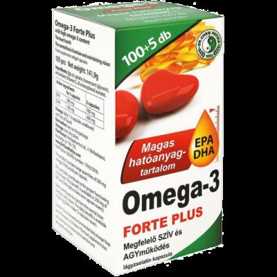 Dr.chen omega3 forte plus kapszula 105 db