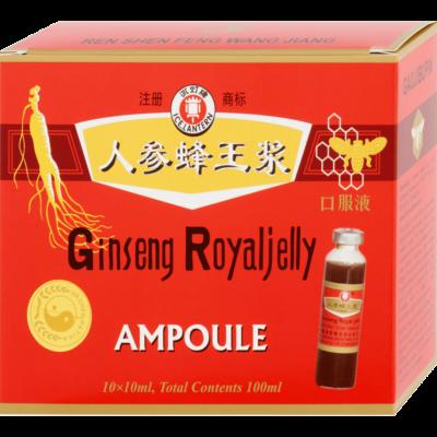 Dr.Chen Ginseng Royal Jelly Ivóampulla, 10 db