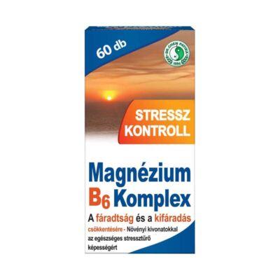 Dr.Chen Stressz Kontrol Magnézium B6 Tab, 60 db