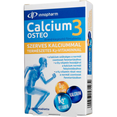 Innopharm calcium 3 osteo filmtabletta 30 db