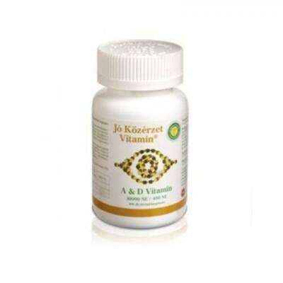 Jó közérzet a amp; d vitamin tabletta 100 db