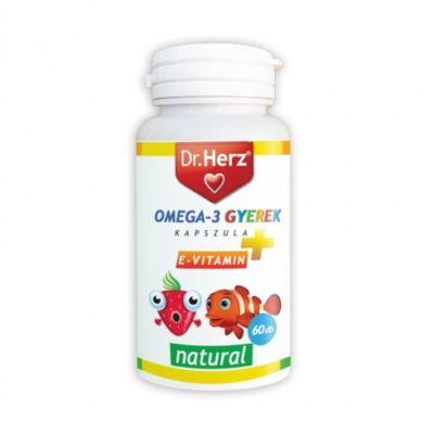 DR Herz Omega-3 Gyerek 60 db lágyzselatin kapszula