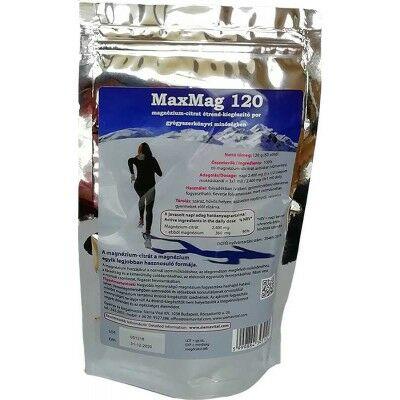 MAXMAG 120 MAGNÉZIUMCITRÁT POR 120 G