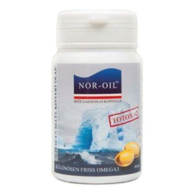 NorOil szűz lazacolaj kapszula 60 db