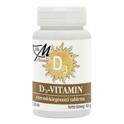 Dr.m prémium d3vitamin tabletta 120 db