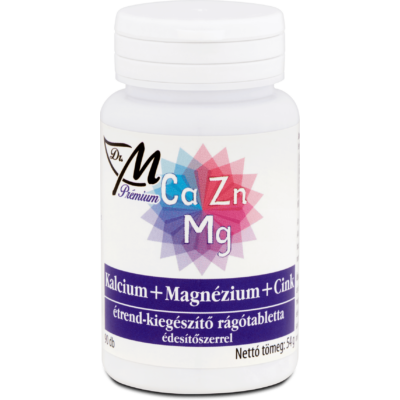Dr.m prémium kalciummgcink rágótabl. 90 db