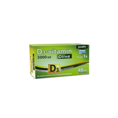 Jutavit d3-vitamin 3000 NE olíva 40 db