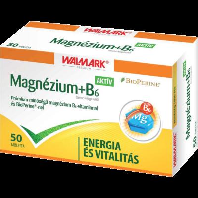 Walmark magnéziumb6 tabletta 50 db
