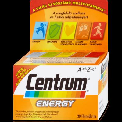 CENTRUM AZ ENERGY FILMTABLETTA 30 db