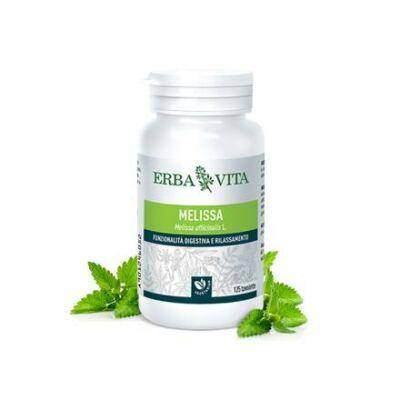 ErbaVita® Mikronizált Citromfű tabletta - Görcsoldó, idegnyugtató. Fejfájás, szorongás, pánikbetegségek és alvászavarok. 25 db
