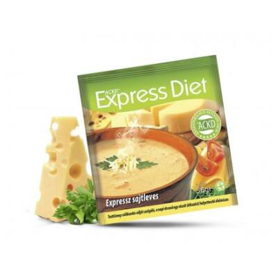 Natur Tanya® Expressz Diéta - Krémes, lágyan selymes sajtleves. Zsírégető Antikatabolikus ketogén étel. 1 tasak