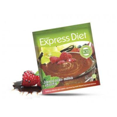Natur Tanya® Expressz Diéta - Krémes csokis-málnás csábítás. Zsírégető Antikatabolikus ketogén smoothie. 1 tasak