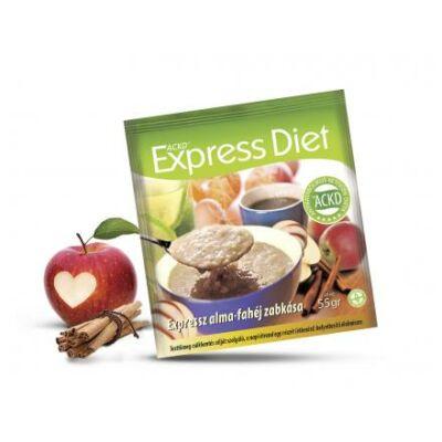 Natur Tanya® Expressz Diéta - Piros alma - Keleti fahéj zabkása. Zsírégető Antikatabolikus ketogén étel. 1 tasak