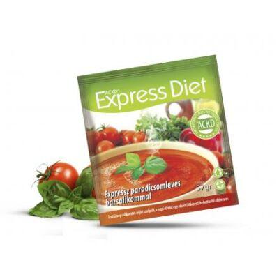 Natur Tanya® Expressz Diéta - Ínyenc paradicsomleves bazsalikommal. Zsírégető Antikatabolikus ketogén étel. 1 tasak