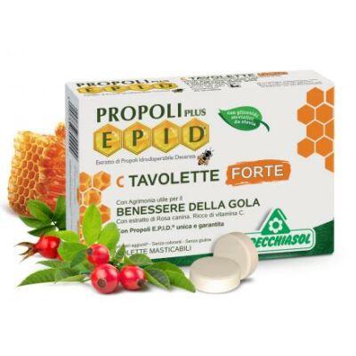 Specchiasol® EPID® C szopogatós tabletta - extra hatóanyag tartalommal és szabadalommal. 1,7 g propolisz/ napi adag! 20 db