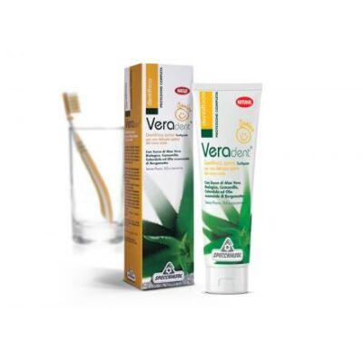Specchiasol® Veradent® Gyermek Fogkrém - Természetes színezékkel! Nikkel, Króm és Kobalt tesztelt! 75 ml