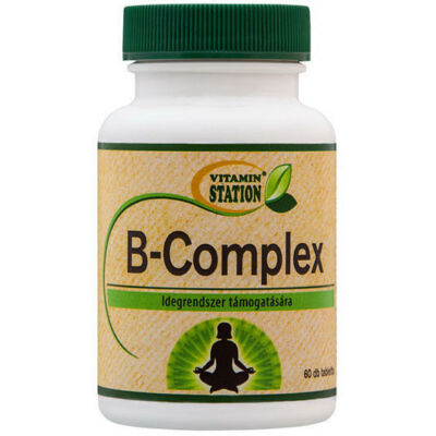 Vitamin Station Bcomplex Tabletta 60 DB