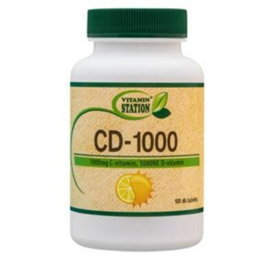 Vitamin Station Cd1000 100 db