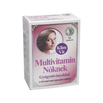 Dr.chen Multivitamin Nőknek Klimvit Kapszula 60 db