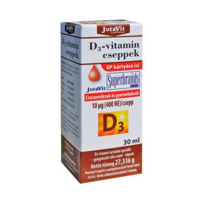 Jutavit D3vitamin Cseppek 30 ml