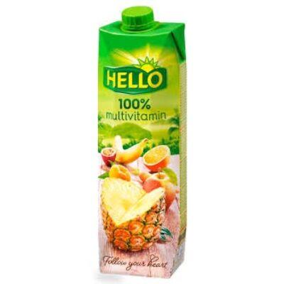 Hello Multivitamin 100százalékos 1000 ml