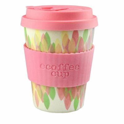 Ecoffee Cup hordozható kávéspohár Sakura Pink 340 ml